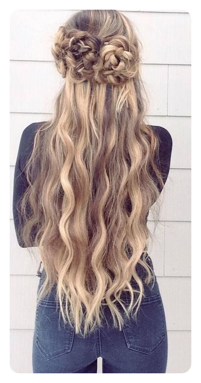 86 best graduation hairstyles for your most awaited day overlapped half up braid solutioingenieria Gallery