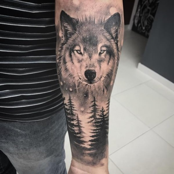 124 Tips And Design Ideas For A Wolf Tattoo