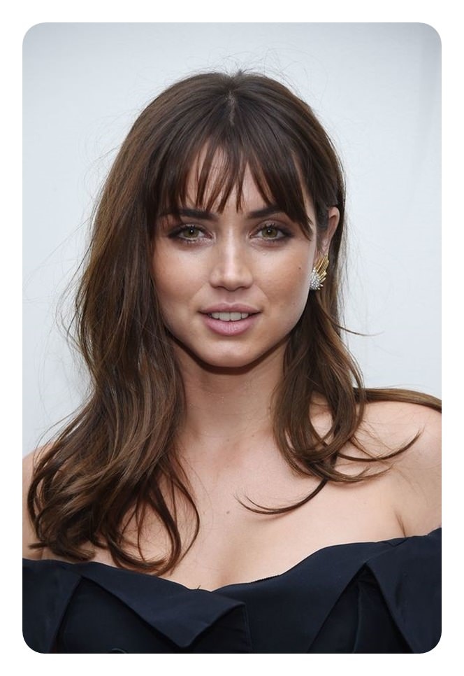 84 Wispy Bangs Hairstyle That You Must Try