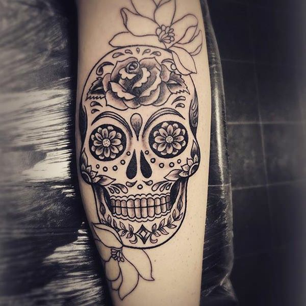 Deep Spiritual Meaning Of Sugar Skull Tattoos Plus 87 Beautiful Design Ideas