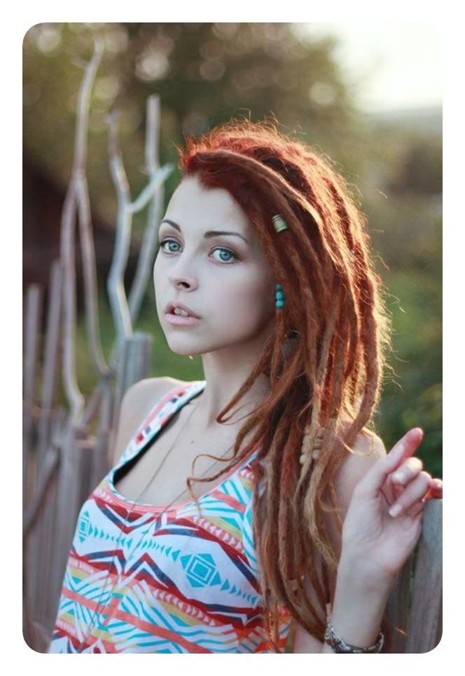 104 Ways To Style Your Dreadlocks In 2018