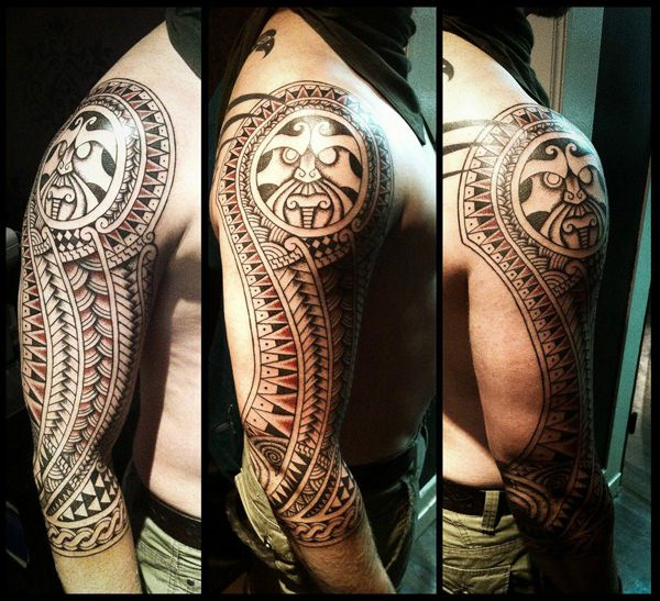 06ce118e3 Polynesian-Tattoos. This motif symbolizes gods as well as human. However,  the reversed enata signifies an enemy. If this sign is placed upside down  they can ...