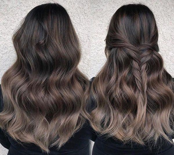 0653a45ad8 Long Hair with Combination of Ash Brown and Ombre
