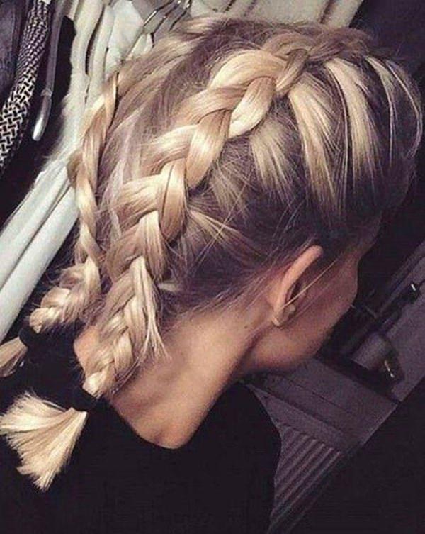 How to make dutch braids look longer