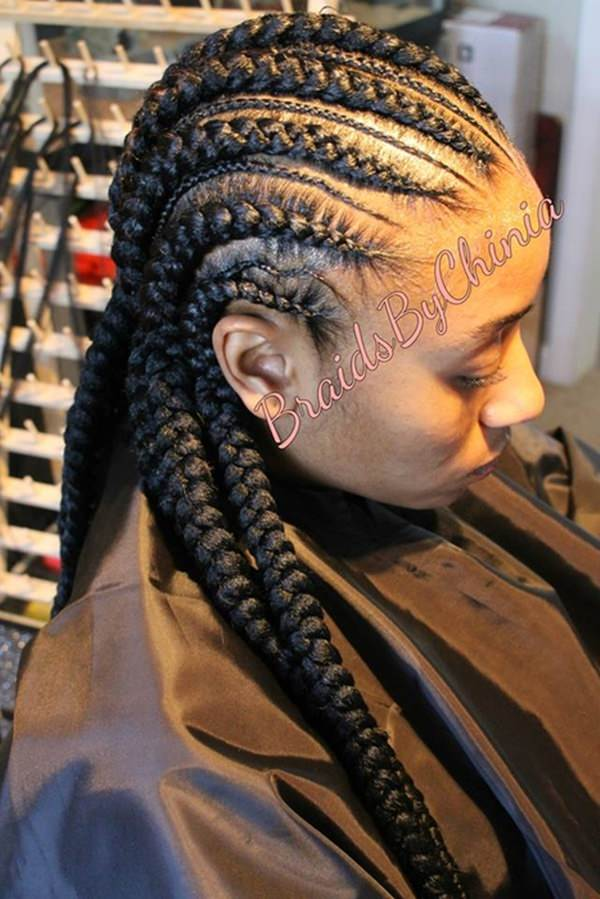 82 Feed In Braids Hairstyle To Rock This Year