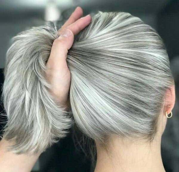 White Is The Color Giving Plain Pleasant And Pure Feeling Combination Of Ash Brown With Or Simply Whitish Quite Fit For Having