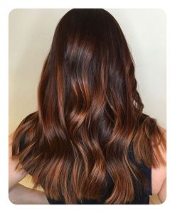 Make Your Hair Look Gorgeous By Mixing Auburn Highlights To Chest Brown This Colour Mixed With Adds More Thickness