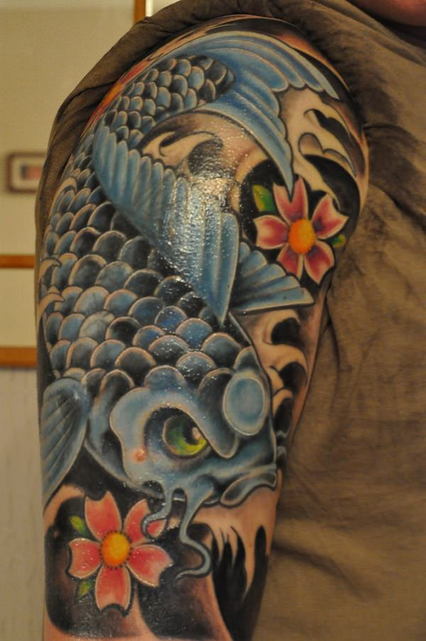 198 Koi Fish Tattoos More Than Just A Cool Tattoo