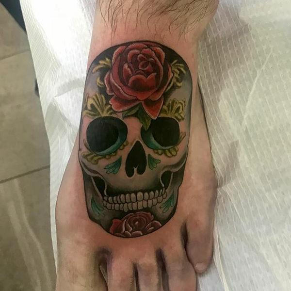 Deep Spiritual Meaning Of Sugar Skull Tattoos Plus 87 Beautiful