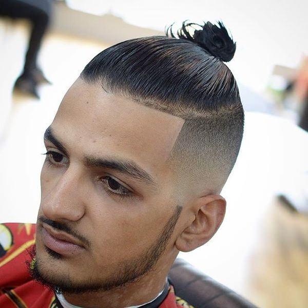 man-bun-haircuts