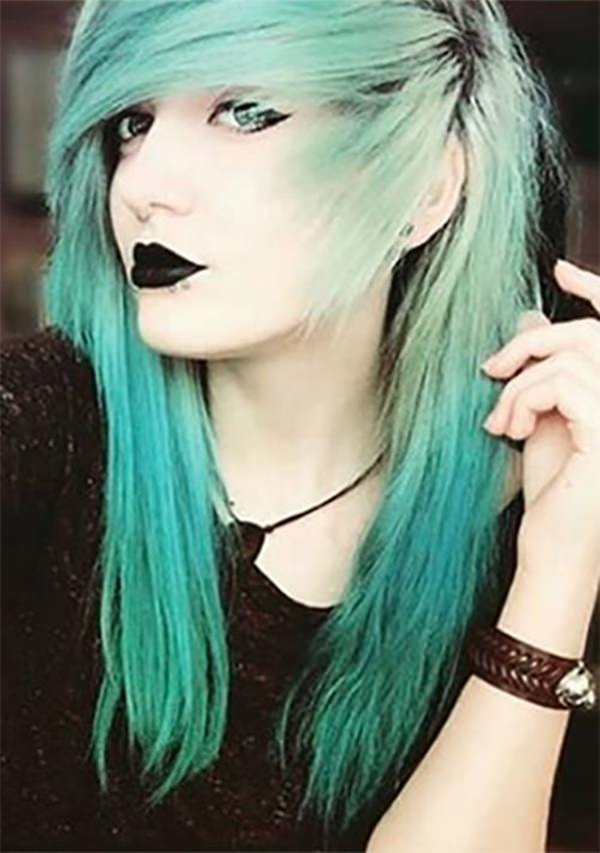 146 Awesome Emo Hairstyle For Every Girls