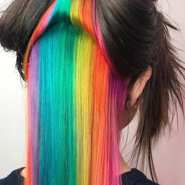 104 Outstanding Rainbow Hair That You Can T Take Your Eyes Off