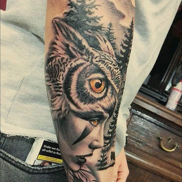 113 Best Owl Tattoos With Their Meaning Which You Can Get