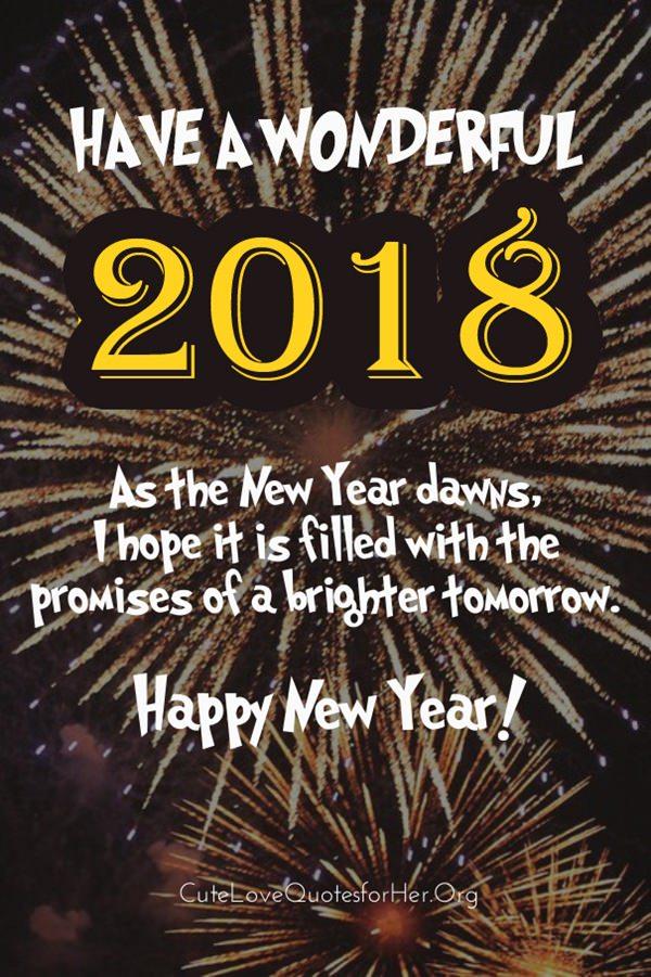 warm happy new year