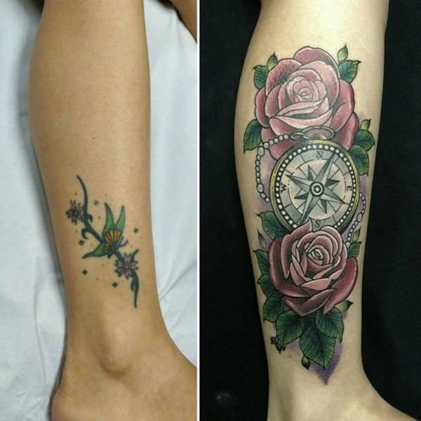 112 Amazing Cover Up Tattoo Designs To The Rescue