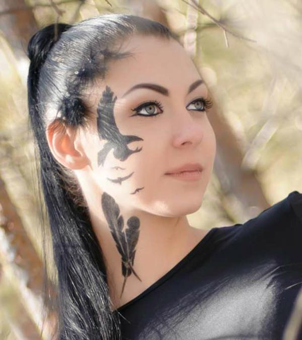 Top 73 Best Face Tattoos You Could Get In 2018 That Make A Statement