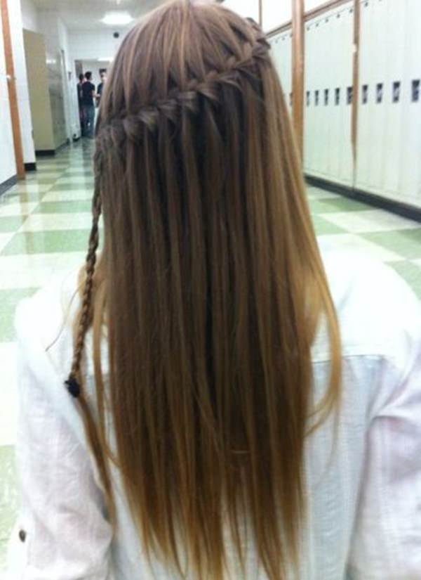 129 Amazing Waterfall Braid You Must Try