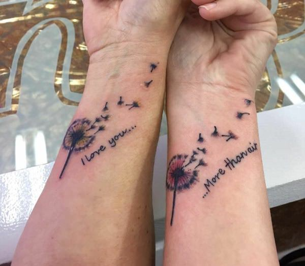 fe65a8fbf 130 Sweetest Mother Daughter Tattoos About The Precious Bond