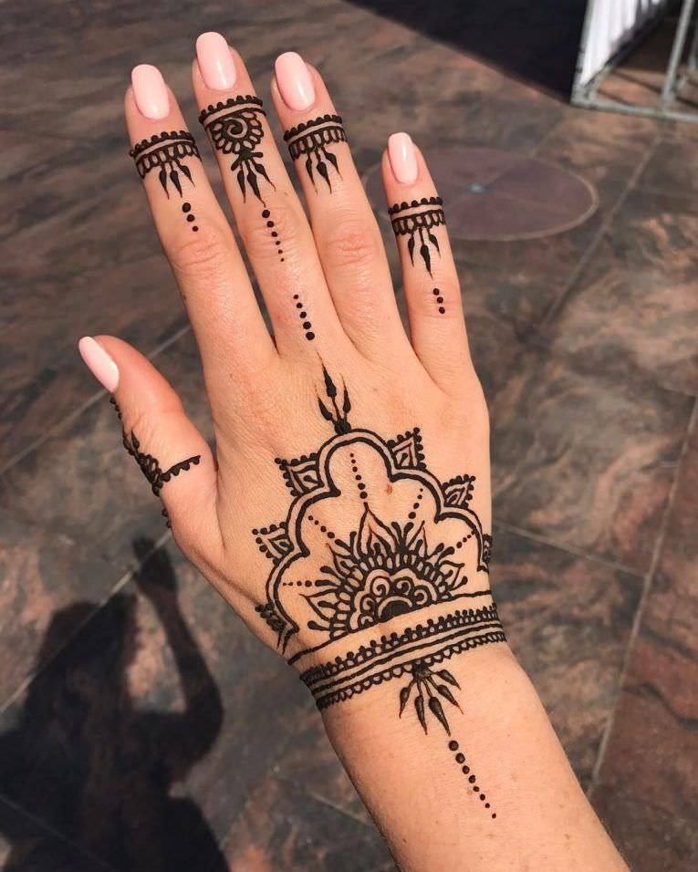 150 gorgeous designs that show how good a henna tattoo can get. Black Bedroom Furniture Sets. Home Design Ideas
