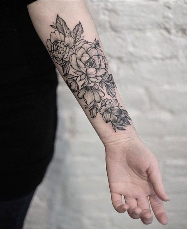 Beautiful Flower Tattoos That You Will Fall In Love With