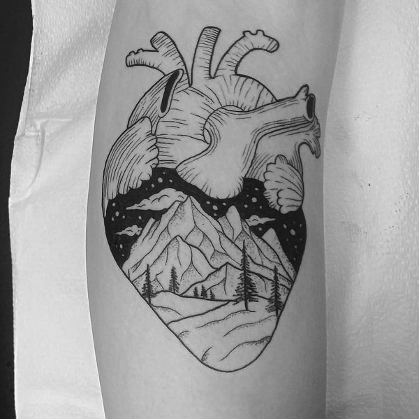 113 Of Best Heart Tattoos And Designs That You Could Get In 2018