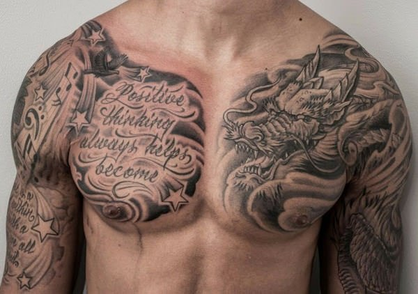Top 113 Best Chest Tattoos You Could Get In 2018