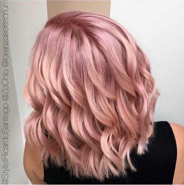 121 Wonderful Rose Gold Hair Trending In 2018