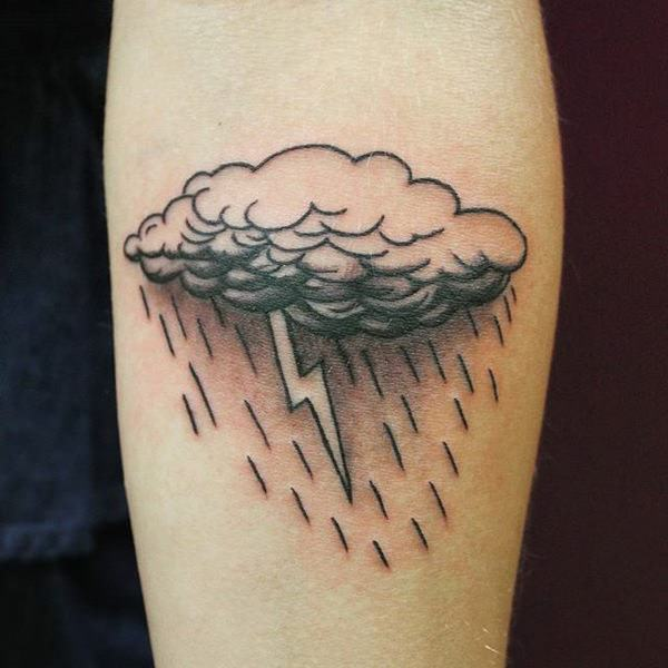 120 Mind Blowing Cloud Tattoos For Men And Women