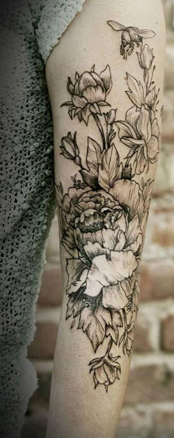 Beautiful flower tattoos that you will fall in love with 110 designs the nectar izmirmasajfo
