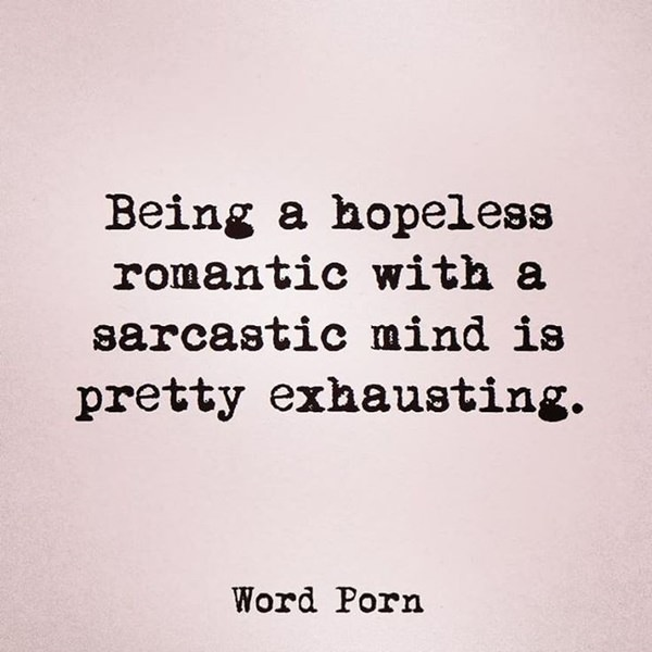 hopeless romantic girl quotes