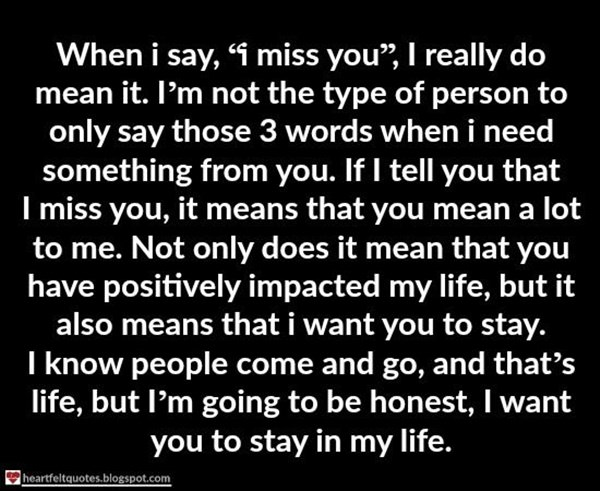 113 Best I Miss You Quotes And Sayings To Help You In Your ...