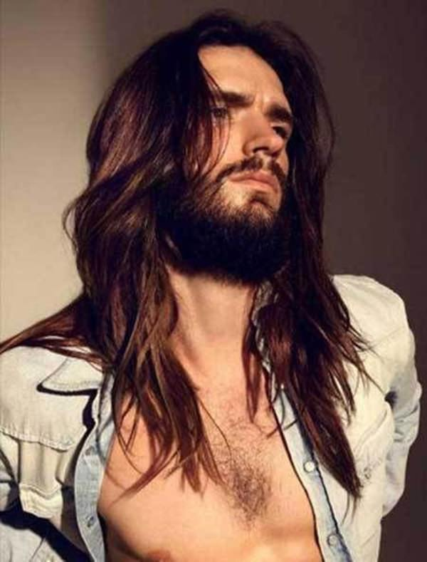 What to do with long hair male