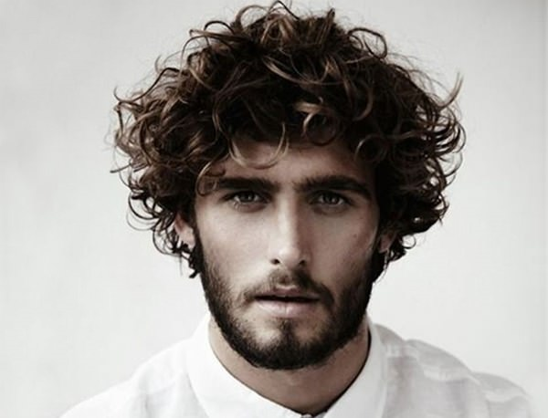 59 Stylish guys with curly hair which will make you go wow