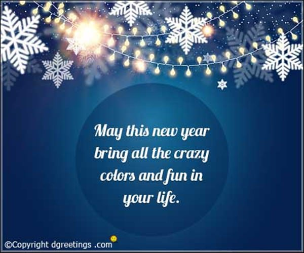 a short new year quote this wish means a lot more than it seems to say you wish someones goodwill with your pure heart
