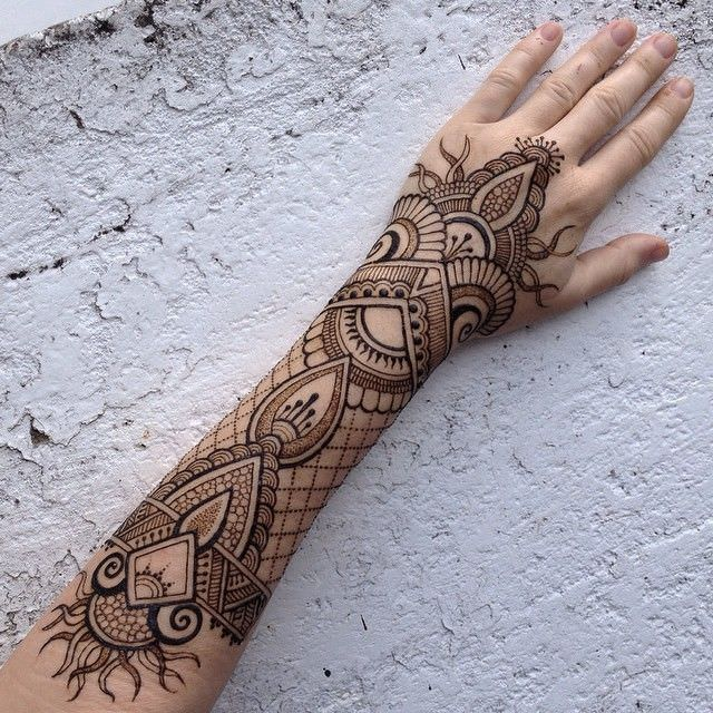 150 Gorgeous Designs That Show How Good A Henna Tattoo Can Get