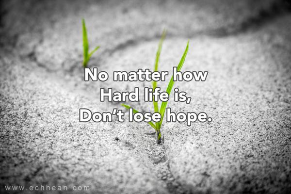 no matter how hard