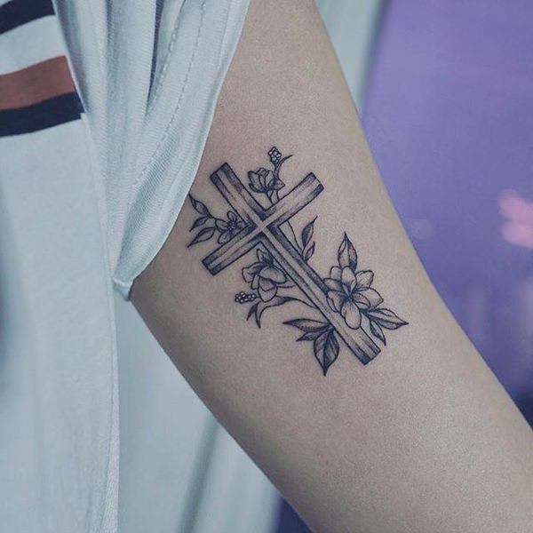127 Of The Best Cross Tattoos That You Could Get In 2018