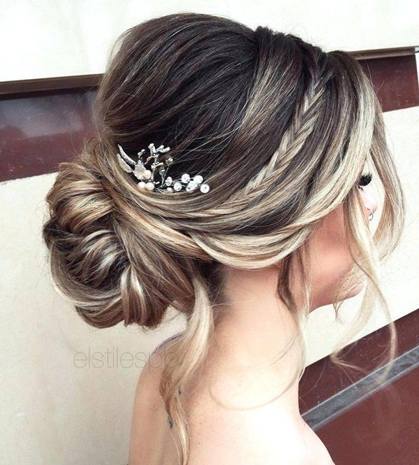 145 Outstanding Updos For Long Hair To Try Once