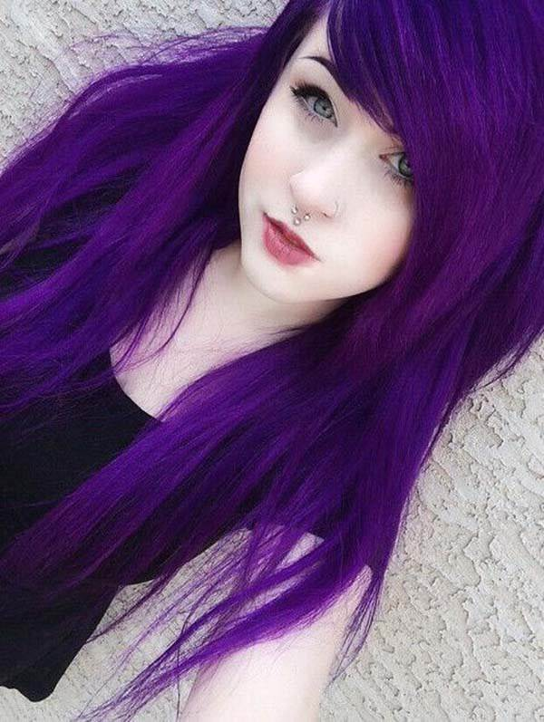 120 Outstanding Purple Hair That Gives You A Splendiferous