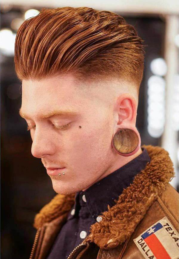 124 Pompadour Haircut That Will Blow Your Mind Away