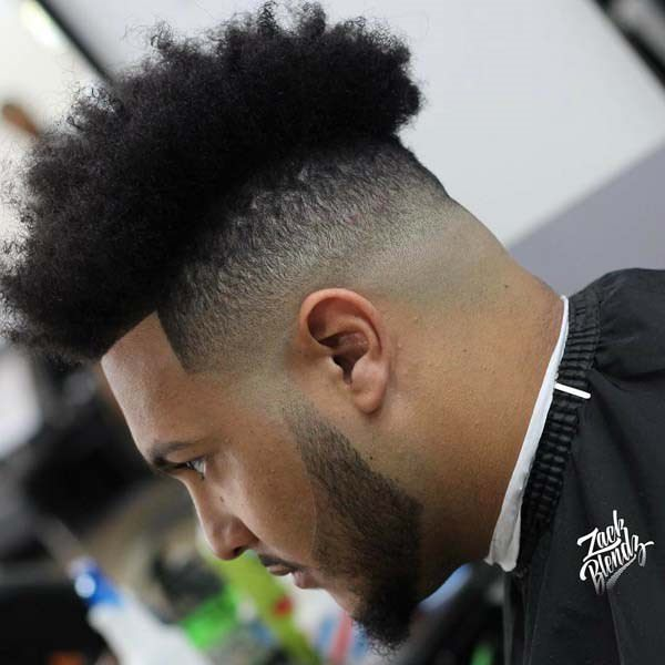 High Fade Black Men The Best Drop Fade Hairstyles