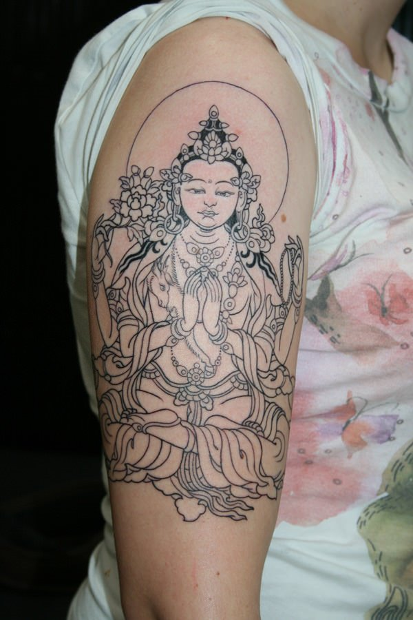 102 buddha tattoo designs that will keep you near to his wisdom buddha tattoo placements mightylinksfo