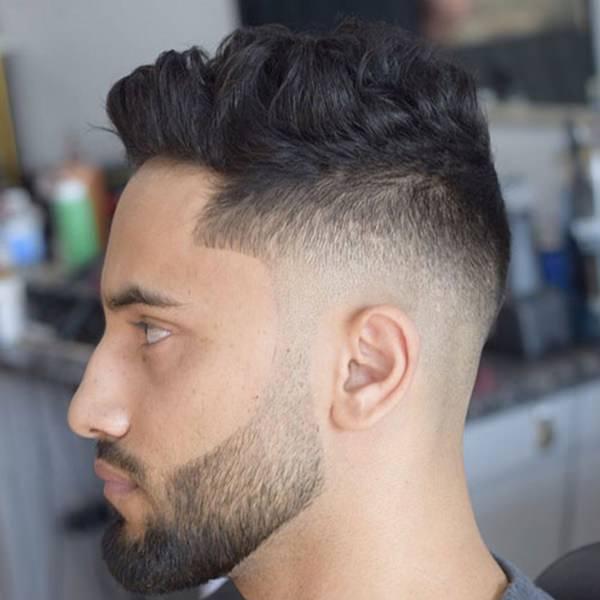 Mid Taper Haircut Curly Hair 56