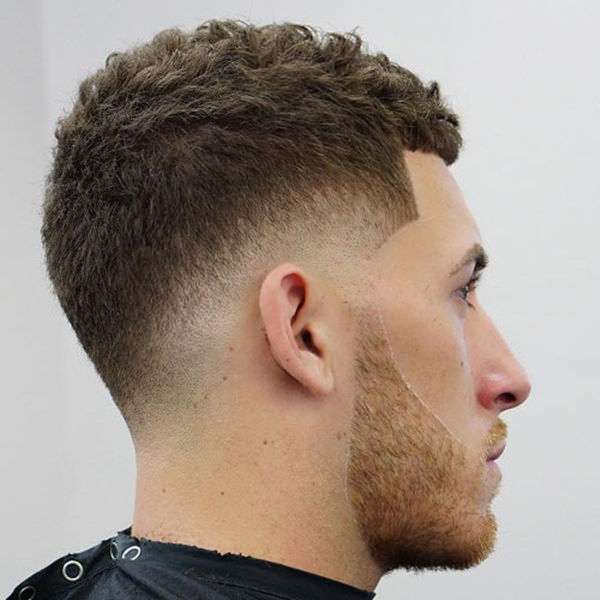 Mid Fade Dressy Haircut Straight From