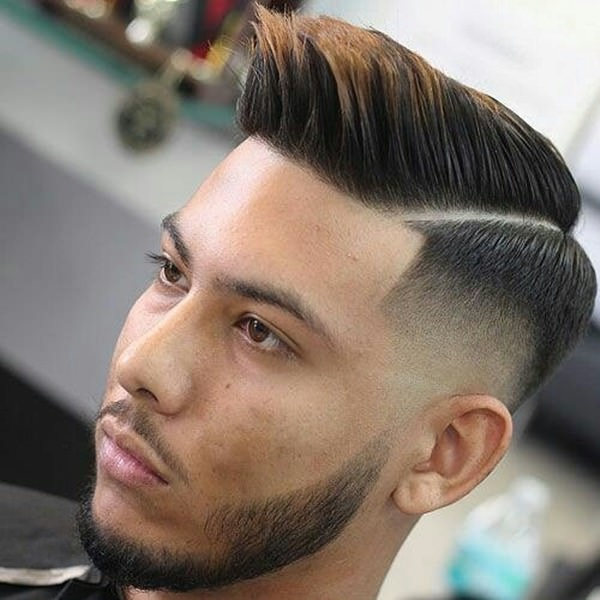 Mid Fade Dressy Haircut Straight From The Fashion Magazine