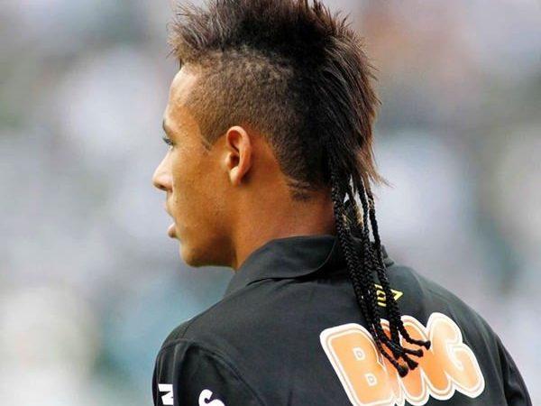 neymar haircut