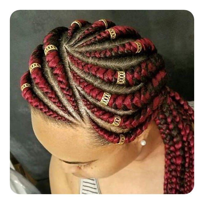 135 Gorgeous Ghana braids That You Will Love