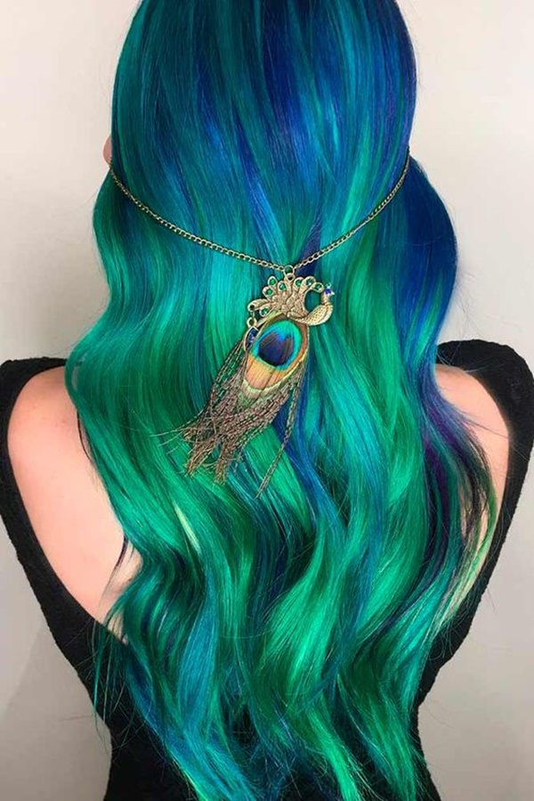 101 Stupendous Blue Hair Ideas That Will Blow Your Mind