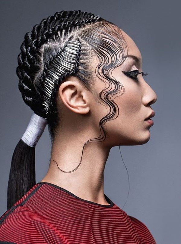 128 Latest Braided Ponytail Hairstyles For This Season